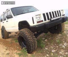 "2000 Jeep Cherokee - 15x10 -44mm - Pro Comp Series 51 - Suspension Lift 4.5"" - 33"" x 12.5"""