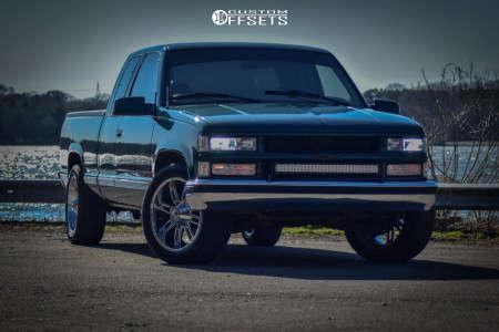 "1997 Chevrolet C1500 - 20x9 -12mm - Red Dirt Road Rd06 - Suspension Lift 2.5"" - 265/50R20"