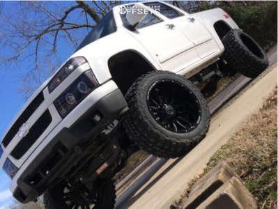"2005 Chevrolet Colorado - 20x12 -44mm - Anthem Off-Road Equalizer - Suspension Lift 7.5"" - 33"" x 12.5"""