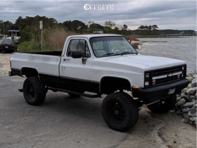 "1985 Chevrolet K20 - 18x9 -12mm - Incubus Poltergeist - Suspension Lift 8"" - 325/65R18"