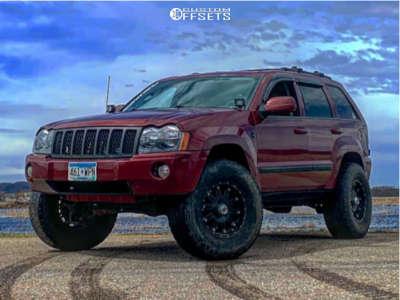 "2007 Jeep Grand Cherokee - 17x9 18mm - XD Xd795 - Suspension Lift 4.5"" - 305/70R17"