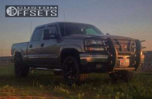 2006 Chevrolet Silverado 1500 - 20x9 18mm - XD Monster - Leveling Kit - 275/65R20