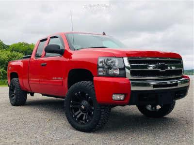 "2013 Chevrolet Silverado 1500 - 20x10 -12mm - XD Xd778 - Suspension Lift 3.5"" - 33"" x 12.5"""
