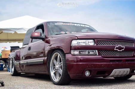 2001 Chevrolet Silverado 1500 - 24x10 31mm - Intro Torino - Lowered 6+F / 8+R - 295/25R24