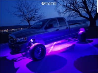 "2008 Dodge Ram 2500 - 22x14 -76mm - LRG 103 - Suspension Lift 5"" - 33"" x 12.5"""