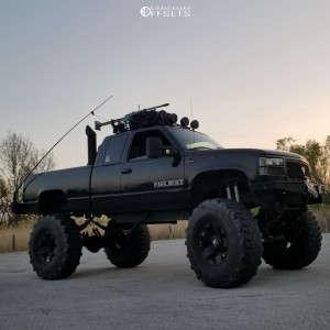 "1997 Chevrolet K1500 - 20x12 -44mm - Xd Xd775 - Lifted >12"" - 395/85R20"