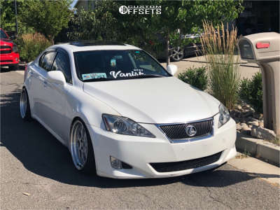 2007 Lexus IS250 - 18x9.5 22mm - Aodhan Ds01 - Coilovers - 215/35R18
