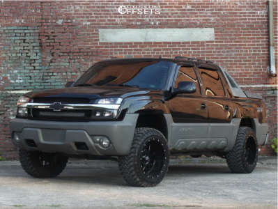 "2002 Chevrolet Avalanche 1500 - 20x12 -44mm - XD Xd820 - Leveling Kit - 33"" x 12.5"""