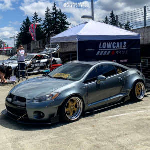 2007 Mitsubishi Eclipse - 18x11 -10mm - Work Equip Anhelo - Coilovers - 225/40R18