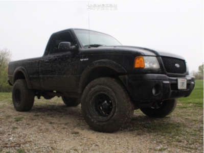 "2003 Ford Ranger - 16x10 -70mm - Pro Comp Series 51 - Body Lift 3"" - 305/70R16"