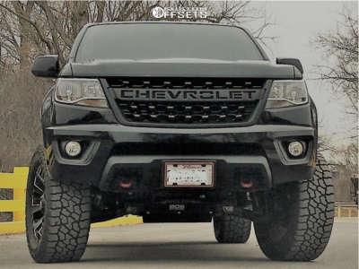 "2018 Chevrolet Colorado - 20x9 7mm - Fuel Assault - Suspension Lift 5.5"" - 305/55R20"