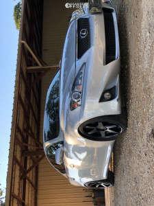 2011 Lexus IS250 - 18x8.5 25mm - Niche Altair - Coilovers - 225/40R18