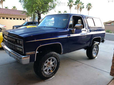 "1989 Chevrolet Blazer - 18x9 -18mm - Mayhem Tank - Suspension Lift 2.5"" - 265/70R18"
