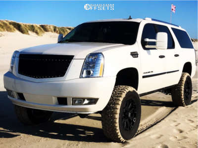 "2007 Cadillac Escalade ESV - 20x9 0mm - Xd XD800 - Suspension Lift 6"" - 35"" x 12.5"""