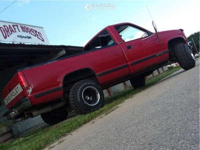 "1988 Chevrolet C2500 - 15x14 -88mm - Bart Super Trucker - Suspension Lift 4"" - 31"" x 10.5"""