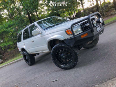 "2002 Toyota 4Runner - 18x9 -12mm - Dropstars 645b - Suspension Lift 3"" - 285/65R18"