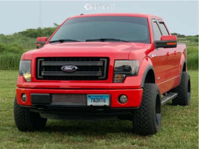 2013 Ford F-150 - 20x12 -44mm - Scorpion Sc22 - Leveling Kit - 305/50R20