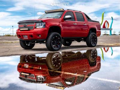 "2007 Chevrolet Avalanche - 20x9 0mm - Ballistic Jester - Suspension Lift 6"" - 35"" x 12.5"""