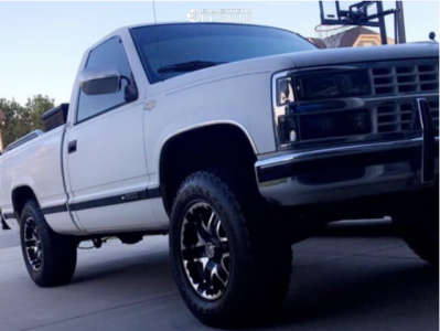 "1989 Chevrolet C1500 - 17x9 10mm - Gear Off-Road Double Pump - Suspension Lift 4.5"" - 275/70R17"