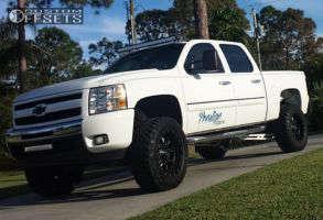 """2011 Chevrolet Silverado 1500 - 20x10 -12mm - Fuel Krank - Suspension Lift 6"""" - 35"""" x 12.5"""""""