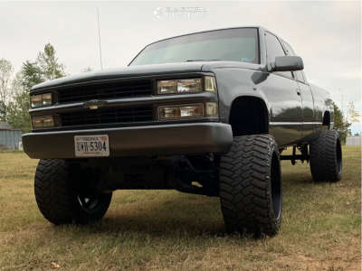 "1994 Chevrolet K1500 - 22x16 -101mm - American Force Jade Ss - Suspension Lift 6"" - 355/40R22"