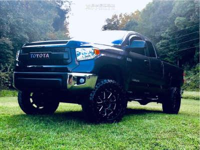 """2016 Toyota Tundra - 20x10 -19mm - Gear Off-Road Big Block - Suspension Lift 6"""" - 35"""" x 12.5"""""""