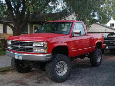 "1990 Chevrolet K1500 - 17x8 10mm - Pacer 185p Baja Champ - Suspension Lift 6"" & Body 3"" - 35"" x 12.5"""