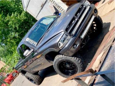 """2002 Dodge Dakota - 20x12 -44mm - RBP 74r - Body Lift 3"""" - 33"""" x 12.5"""""""
