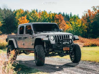 "2020 Jeep Gladiator - 17x8.5 0mm - Black Rhino Primm - Suspension Lift 4.5"" - 37"" x 12.5"""