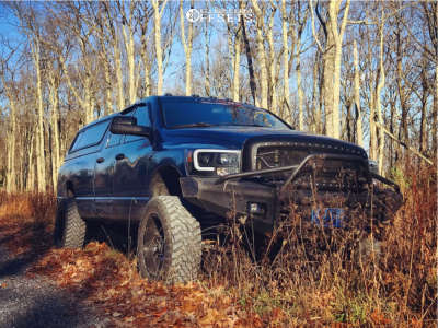"2006 Dodge Ram 2500 - 20x10 -24mm - Havok H112 - Suspension Lift 3"" - 35"" x 12.5"""