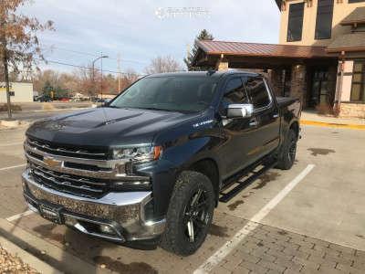 2019 Chevrolet Silverado 1500 - 20x9 18mm - VenomRex Vr602 - Stock Suspension - 275/60R20