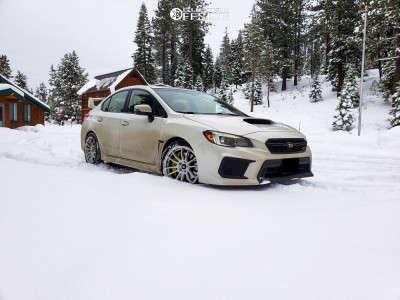 2018 Subaru WRX STI - 18x8.5 32mm - MST Mt33 - Stock Suspension - 235/40R18