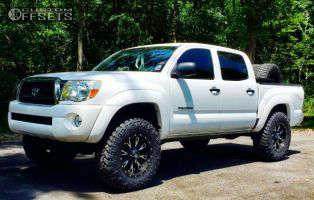 "2010 Toyota Tacoma - 18x9 1mm - Fuel Throttle - Suspension Lift 3"" - 275/70R18"