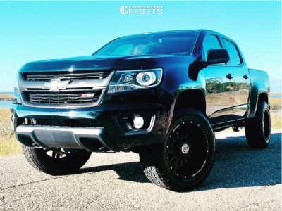 "2016 Chevrolet Colorado - 20x10 -24mm - Anthem Off-Road Equalizer - Suspension Lift 3.5"" - 275/60R20"