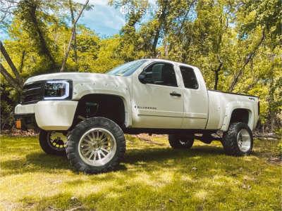 "2008 Chevrolet Silverado 1500 - 20x12 -51mm - Cali Offroad Summit - Suspension Lift 8.5"" - 35"" x 12.5"""