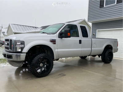 """2008 Ford E-250 Super Duty - 22x12 -51mm - ARKON OFF-ROAD Lincoln - Leveling Kit - 33"""" x 12.5"""""""