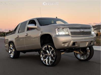 "2007 Chevrolet Avalanche - 26x10 31mm - Oe Revolution G09 - Suspension Lift 9"" - 305/30R26"