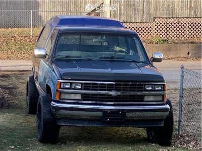 1989 Chevrolet K1500 - 22x10.5 -25mm - Sota Novakane - Stock Suspension - 305/40R22