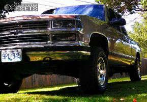 """1998 Chevrolet K1500 - 16x8 10mm - Pacer Warrior - Leveling Kit - 31"""" x 11.5"""""""