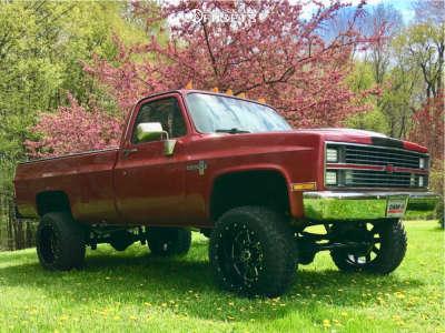 """1982 Chevrolet K20 - 20x12 -44mm - Gear Off-Road Big Block - Suspension Lift 4"""" - 33"""" x 12.5"""""""