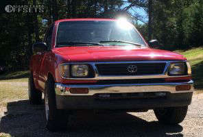 1996 Toyota Tacoma - 15x8 -19mm - Pacer LT - Stock Suspension - 225/75R15