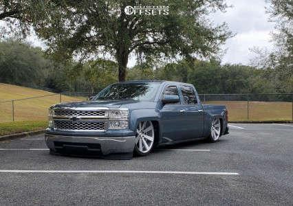 2014 Chevrolet Silverado 1500 - 26x10 30mm - DUB 8 Ball - Air Suspension - 305/30R26