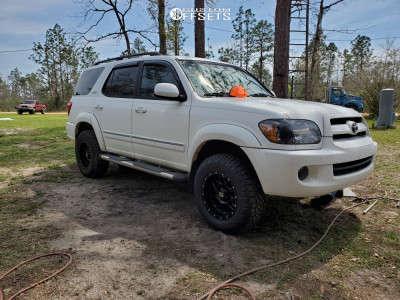 "2007 Toyota Sequoia - 17x9 -12mm - XD Xd820 - Suspension Lift 2.5"" - 265/70R17"