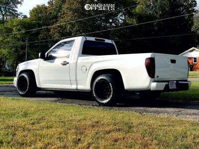 "2004 Chevrolet Colorado - 15x10 -38mm - Bart D Window - Lowered 2F / 4R - 27"" x 9.5"""