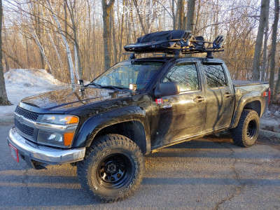 "2008 Chevrolet Colorado - 15x8 -6mm - Pro Comp 51 - Suspension Lift 2.5"" - 31"" x 10.5"""