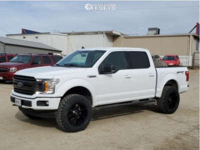 """2019 Ford F-150 - 20x10 -18mm - Fuel Coupler - Suspension Lift 3"""" - 35"""" x 12.5"""""""