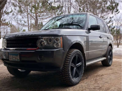 """2006 Land Rover Range Rover - 20x8.5 35mm - Vision Boost - Suspension Lift 2.5"""" - 275/55R20"""