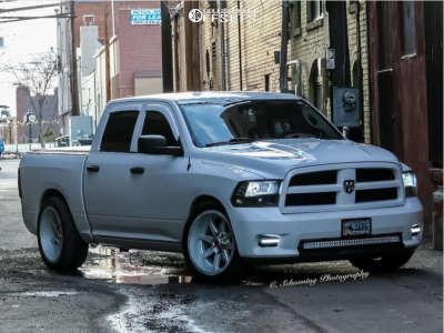 2012 Dodge Ram 1500 - 22x10 -24mm - Fuel Maverick - Lowered 3F / 5R - 305/40R22