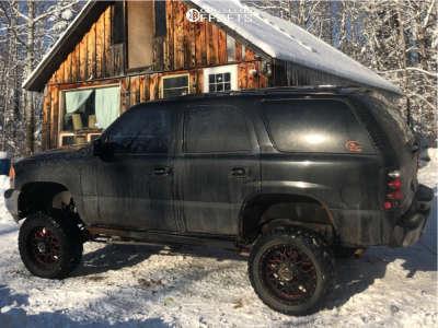 "2003 GMC Yukon - 20x10 -12mm - Hunter Offroad Ht83 - Suspension Lift 8"" - 33"" x 12.5"""