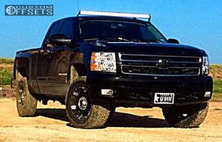 """2012 Chevrolet Silverado 1500 - 18x8.5 18mm - XD Spy - Leveling Kit - 32"""" x 11.5"""""""